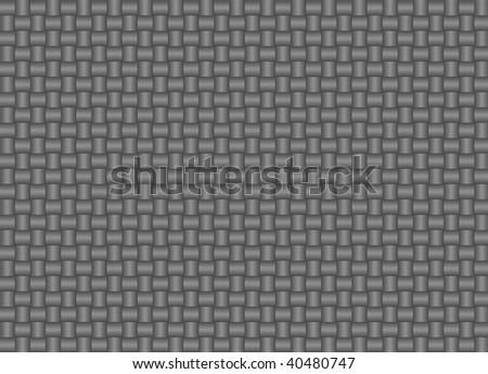 Illustration of gray weave pattern - stock photo