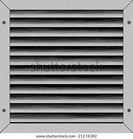 illustration of light gray airvent artwork - stock photo