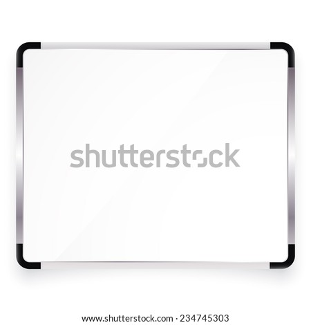 illustration of office board with place for your text  - stock photo