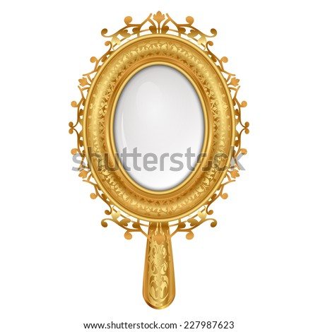 Vintage Hand Mirror Stock Photos Images Amp Pictures