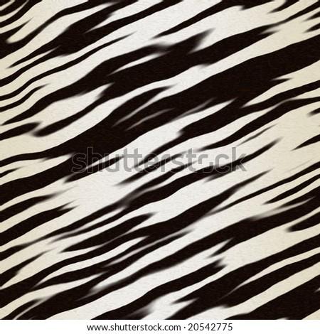 illustration of zebra hide for use as background art - stock photo