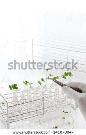 Image of biotechnology - stock photo
