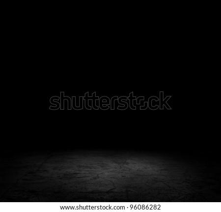 Image of dark concrete floor - stock photo