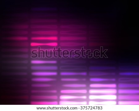 Image of defocused stadium lights.Abstract pink background with neon effects and colorful lights. - stock photo