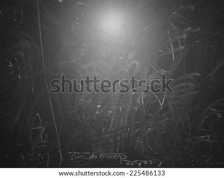 Image of grunge chalkboard, blackboard texture as background. - stock photo