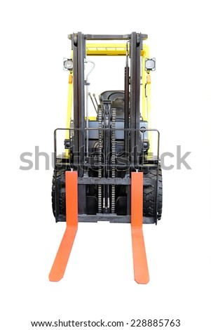 image of loader on the white background - stock photo