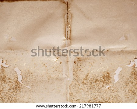 image of old blank good for background - stock photo