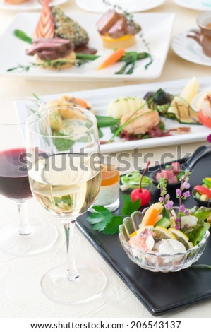 Image Of The Course Meal' - stock photo