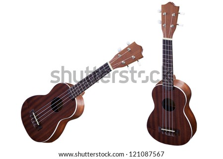 Image of the guitars - stock photo