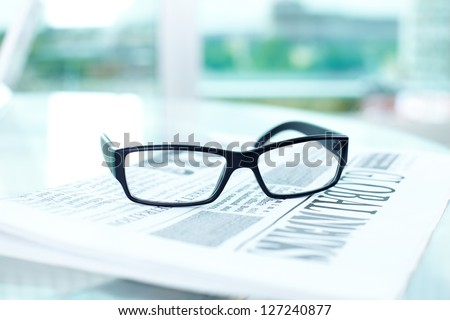 Image of the objects typical for business environment - stock photo