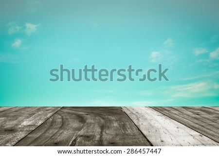 image of vintage style  sky background  with space for text. - stock photo
