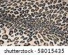 imitation of tiger fabric 4 - stock photo