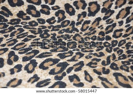 imitation of tiger fabric3 - stock photo
