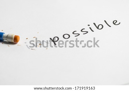 Impossible concept photo with great colors and light - stock photo