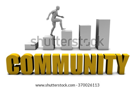 Improve Your Community  or Business Process as Concept - stock photo
