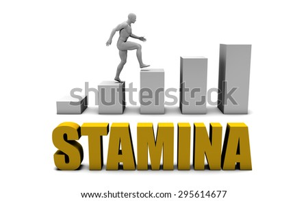 Improve Your Stamina  or Business Process as Concept - stock photo