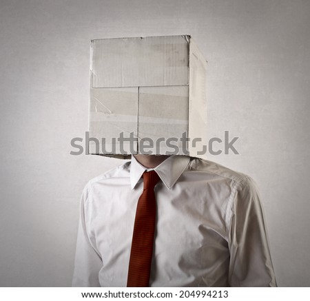 in a box - stock photo