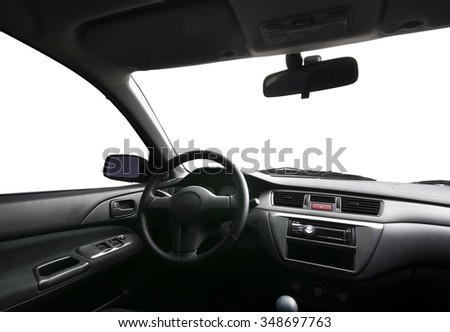 In car. Isolated object. Element of design. - stock photo