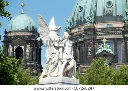 in center berlin - stock photo
