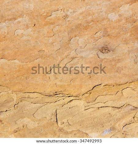 in london     abstract texture of a  ancient wall and ruined brick - stock photo
