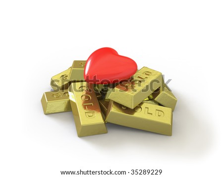 In my portfolio there is collection of pictures of gold and heart. You only enter IN a SEARCH the Photographer Name: PAVEL IGNATOV and keyword: GOLD or HEART - stock photo