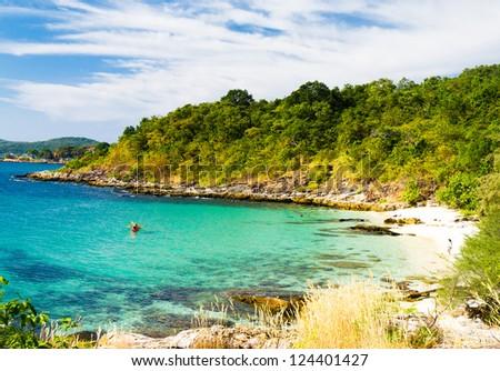 In Paradise Found Sunshine Coast - stock photo