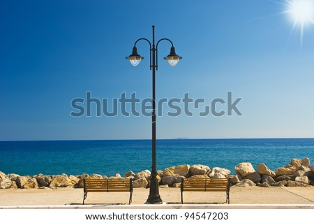 In the south of Crete/Greece - stock photo
