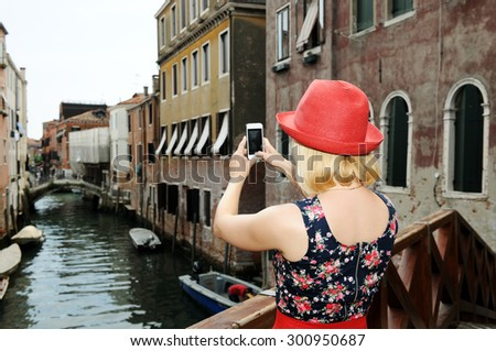 in Venice - stock photo