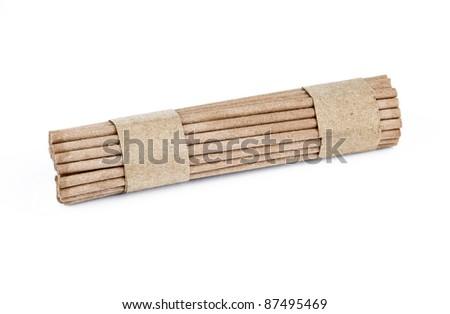 Incense SticksCutout - stock photo