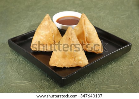 Indan Sweet Halwa made from Moong Dal - stock photo