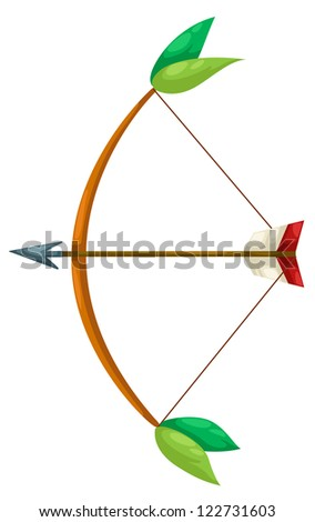 Indian archer.JPG (EPS vector version id 121534846,format also available in my portfolio) - stock photo