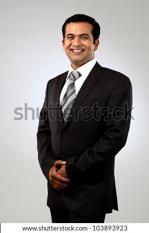 Indian business man - stock photo