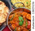 Indian Curry Meal - stock photo