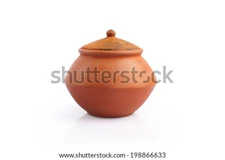 Indian Handmade Pot - stock photo