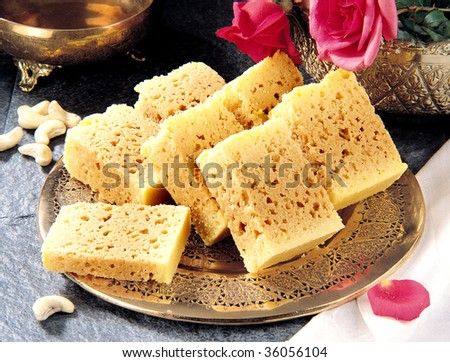 Indian Traditional Rusk - stock photo