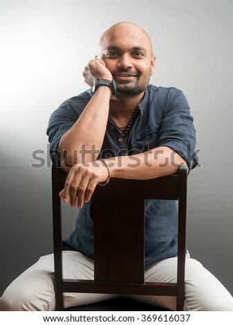 Indian young man, Mumbai, Maharashtra, India, Southeast Asia - stock photo