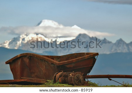 Industrial Age - stock photo