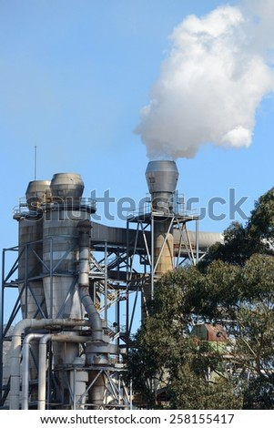 Industrial Factory Exterior - stock photo