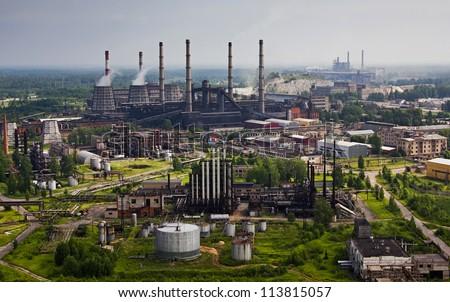 Industrial heaven - stock photo