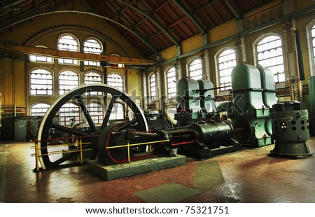 Industrial machines - stock photo
