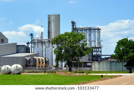 Industrial Manufacturing Plant - stock photo