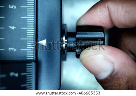 Industrial Measurement   - stock photo