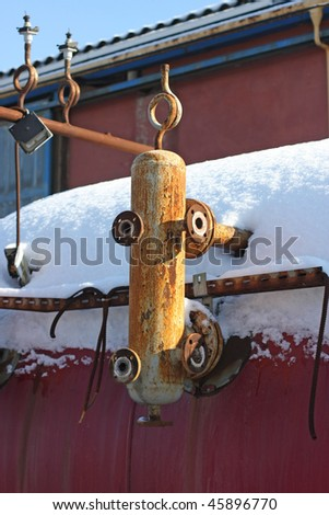 Industrial Scrap - stock photo