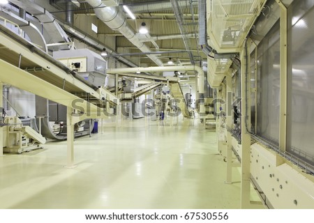Industrial space - stock photo