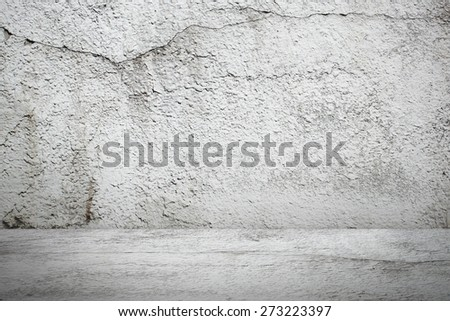 Industrial street wall from side view - stock photo
