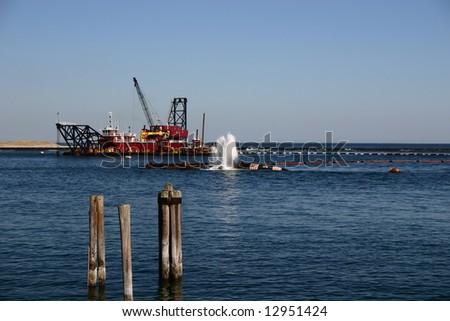 Industrial Vessel - stock photo