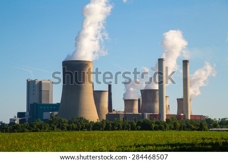 Industry CO2 - stock photo