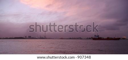 Industry Panorama - stock photo