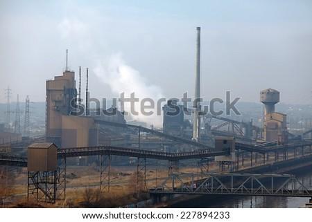 Industryal Area - stock photo