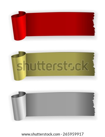 infographic rubber vintage banner design - stock photo